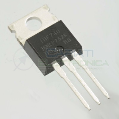 1 PEZZO TRANSISTOR MOSFET IOR IRF740 IRF740PBF N MOSFET 400V 10A 125W TO-220