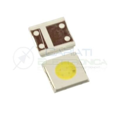 5 PEZZI Led SMD 3535 Bianco Freddo 6V 1.5W per Riparazione TV LG SAMSUNG
