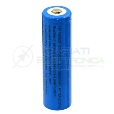 Batteria 18650 ricaricabile pila 18650 2600mah 3.7v li-ion MKC MKC
