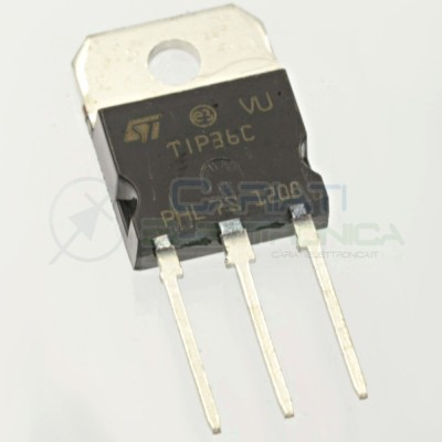 TIP36C Transistor PNP 100V 25A TIP 36 C ST MICROELECTRONICS