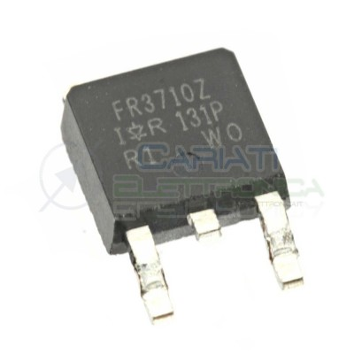 1 PEZZO TRANSISTOR MOSFET FR3710Z IRFR3710Z Canale N 100V 42A 140WATT TO-252