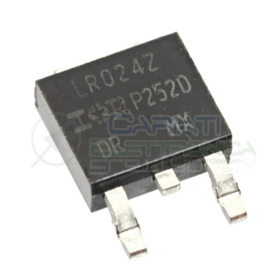 2 PEZZI TRANSISTOR MOSFET LR024N IRLR024NPBF Canale N 55V 17A 45WATT TO-252
