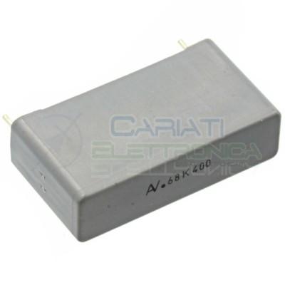 1 PEZZO Condensatore in Polipropilene R60 680nF 0,68uF 400V Passo 27,5mm 10%  1,00€