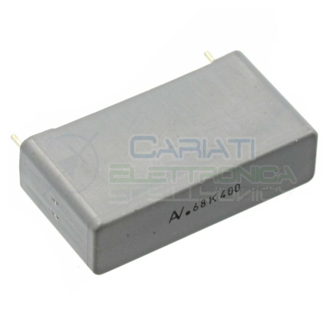 1 PEZZO Condensatore in Polipropilene R60 680nF 0,68uF 400V Passo 27,5mm 10% 1,00 €