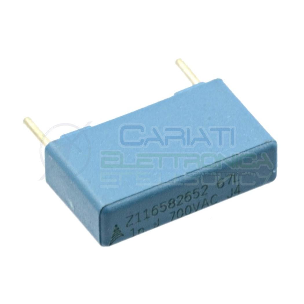 2 PEZZI Condensatore in Polipropilene 1nF 1000pF 2KV Passo 10mm 10% 0,79 €