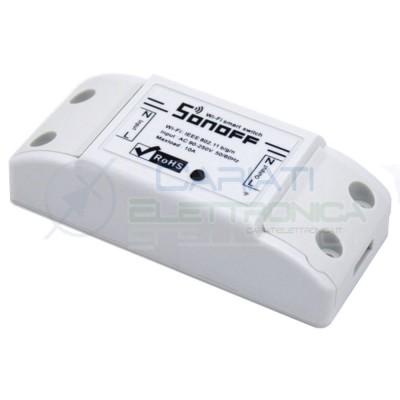 SCHEDA 1 RELè SONOFF BASIC 230V INTERRUTTORE WIFI INTERNET CON APP TELEFONO 9,99 €