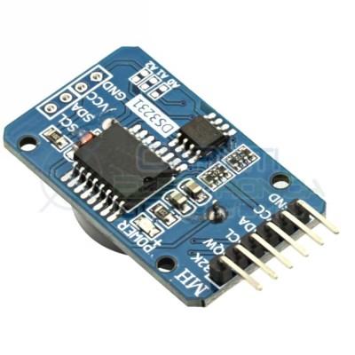 Shield DS 3231 DS3231 modulo RTC real time clock con memoria I2C Arduino PIC Generico
