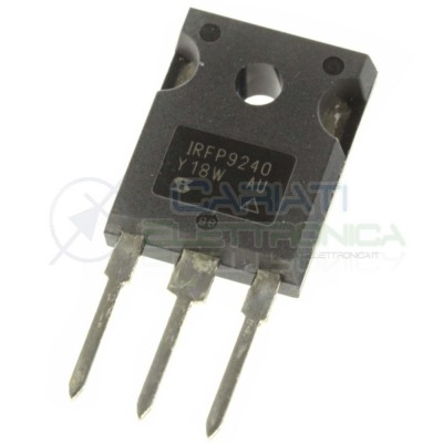 1 PEZZO TRANSISTOR IRFP9240 IRFP 9240 CANALE P HEXFET MOSFET 12A 200V 150W