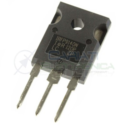 1 PEZZO TRANSISTOR IRFP9140 IRFP 9140 CANALE P HEXFET MOSFET 23A 100V 140W