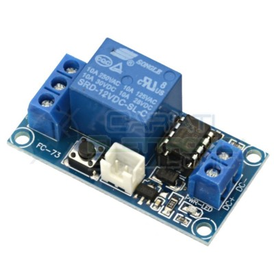 Scheda Relay Relè BISTABILE 12V Dc 10A Singolo 1 Scambio SONGLE SRD-12VDC-SL-C SPDT PCB  4,99 €