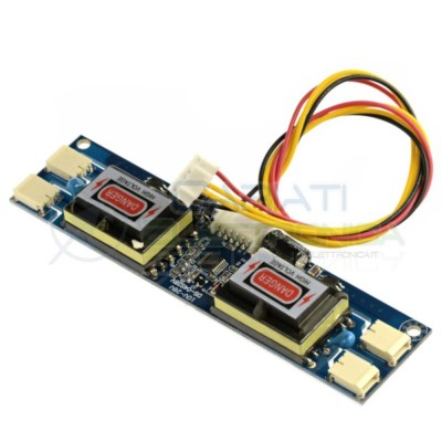 Inverter Universale per CFL CCFL 4 lampade LCD Monitor 15 - 22 pollici  5,59€