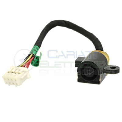 Connettore Alimentazione DC Power Jack HP 650 655 G1 727811-SD1 727811-FD1
