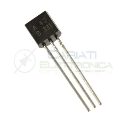 50 PEZZI A42 MPSA42 Transistor NPN 0,5A 500mA 300V TO-92 625mW