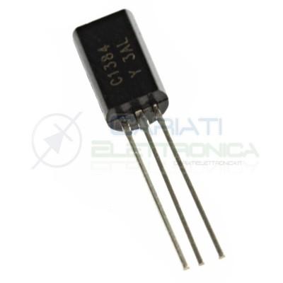 10 Pezzi Transistor 2SC1384 C1384 NPN 60V 1A 0,90 €