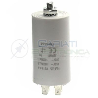 CBB60 Start Capacitor for Motor AC 16uF 450V Electric Motor Pump ectGenerico