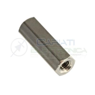 5 PEZZI Distanziale in Metallo femmina F/F M3 15mm Distanziali Distanziatore