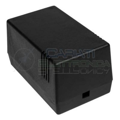 CONTENITORE PLASTICO 114x63x70 mm CUSTODIA PLASTICA ELETTRONICA  1,99€