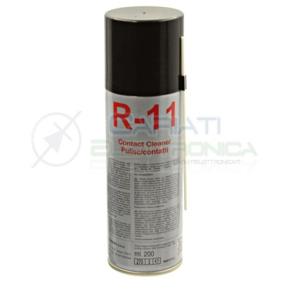 R-11 200ml DUE-CI SPRAY PULISCI CONTATTI R11 ORIGINALE !!! Due-Ci