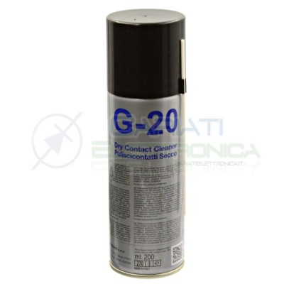 G-20 G20 DRY CONTACT CLEANER 200 ml DueCiDue-Ci