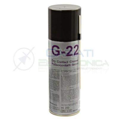 G-22 G22 Spray pulisci contatti a secco 200ml Dueci Due-Ci