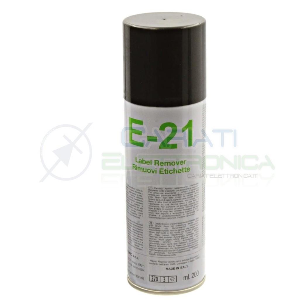 E-21 200 ml DUE-CI SPRAY RIMUOVI ETICHETTE E21 Due-Ci 5,00€
