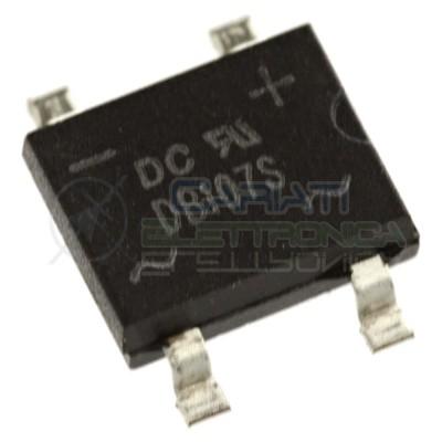 5 PEZZI Ponte di diodi DB107S SMD 1A 1000V raddrizzatore 4 pin