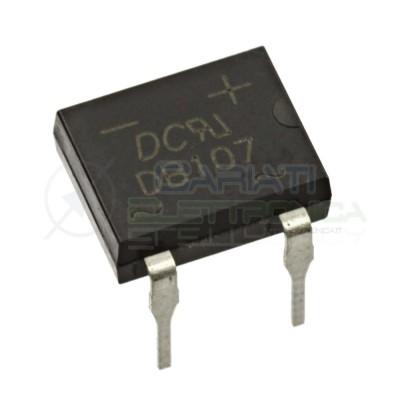 5 PEZZI Ponte di diodi DB107 1A 1000V raddrizzatore 4 pin DIP