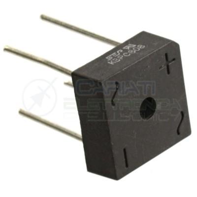 1 PEZZO Ponte di diodi KBPC808 8A 800V Raddrizzatore Monofase  0,79€