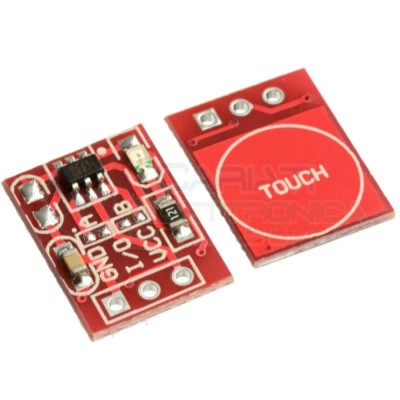 Touch Interruttore Capacitivo Sensore touch capacitive Switch Arduino PIC Generico