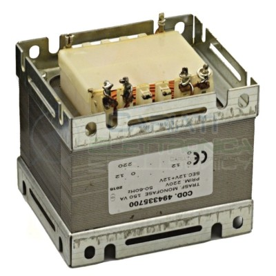 Trasformatore Monofase 150 VA ingresso 230V Doppia uscita 12 Volt 12V+12V  31,99€