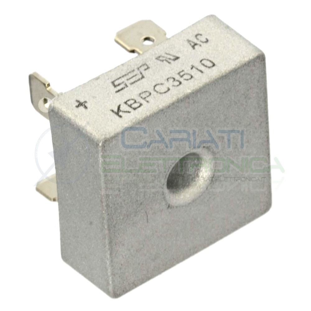 1 PEZZO Ponte di diodi raddrizzatore KBPC3510 35A 1000V