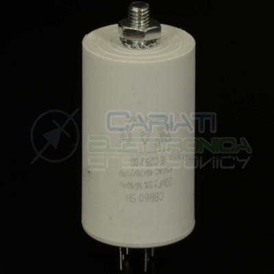 Condensatore elettrico 20 uF 20uF 450V Capacitore avvio motore pompa elettropompaSR Passive