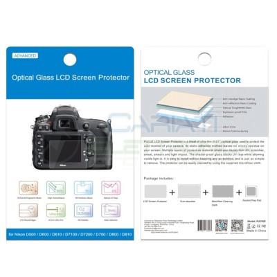 VETRO PROTETTIVO LCD PER NIKON D5 D500 D7100 D610 D600 D750 D810 D800 D800E  3,99€
