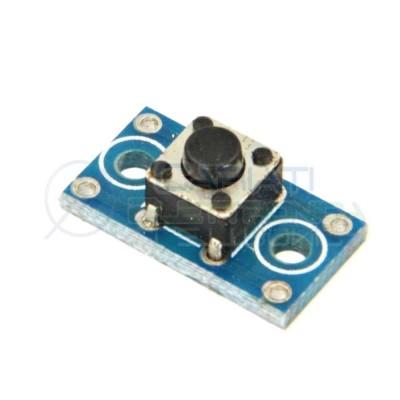 4 Pezzi Scheda pulsante 6x6x6mm micro switch interruttore momentaneo