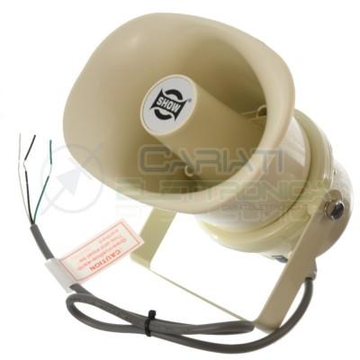 Speaker Cassa Diffusore a Tromba 100V 10W SC-10AH IP66 da Esterno 105dB