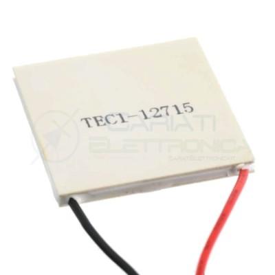 Peltier 12V 15A TEC1-12715 Heatsink Thermoelectric Cooler Cooling 136.8W TEC1 12715