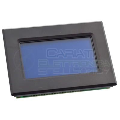 Display grafico 128 x 64 LCD retroilluminato BLU CON MASCHERA Arduino Pic ST7920 standard  10,99€