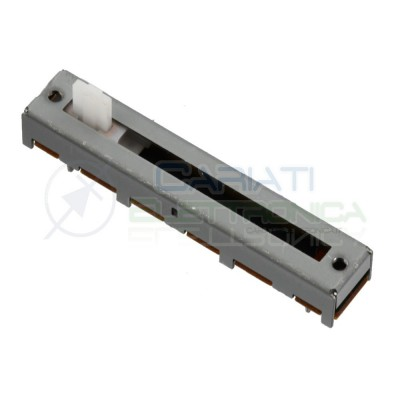Potenziometro slider Mono a slitta Logaritmico 45mm 500kohm A500K Audio Mixer Generico