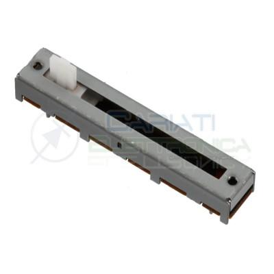 Potenziometro slider Mono a slitta Logaritmico 45mm 500kohm A500K Audio Mixer 1,69 €