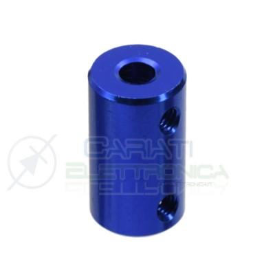 Accoppiatore 5 x 8 mm Giunto in alluminio per Motore Dimensioni 25 x 14 mm coupler shaft Generico