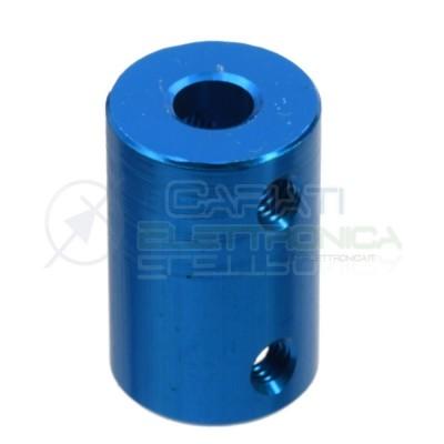 Accoppiatore 6 x 10 mm Giunto in alluminio per Motore Dimensioni 25 x 16 mm coupler shaft  1,69€
