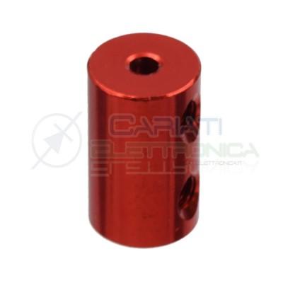 Accoppiatore 3 x 4 mm Giunto in alluminio per Motore Dimensioni 20 x 12 mm coupler shaft