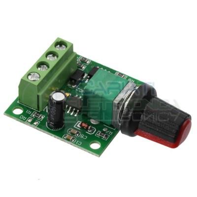PWM Driver Motore Dimmer REGOLATORE di velocità giri DC 1.8V 3V 5V 6V 12V 2A Generico