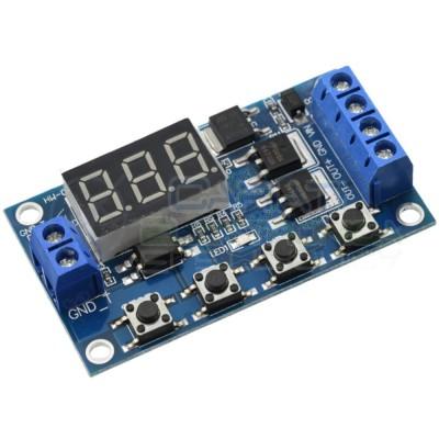 Scheda modulo temporizzatore timer multifunzione MOS 5V 12V 24V con display