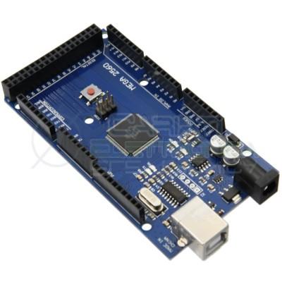 Scheda compatibile ARDUINO MEGA 2560 ATmega2560 con cavo USB Generico 11,99€