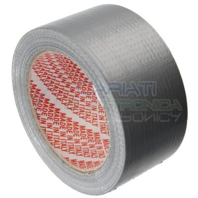 Nastro adesivo telato americano 50x25m impermeabile duct tape universale Cariati Elettronica