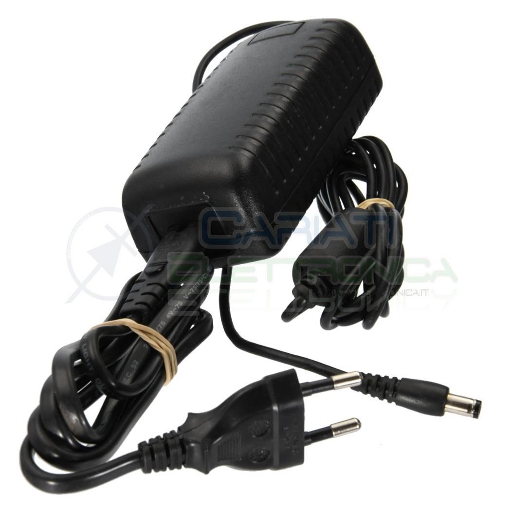 Alimentatore switching 9V Dc 4A CON CONNETTORE DC 2.1/5.5mm e Filtro Ferrite 4,99 €