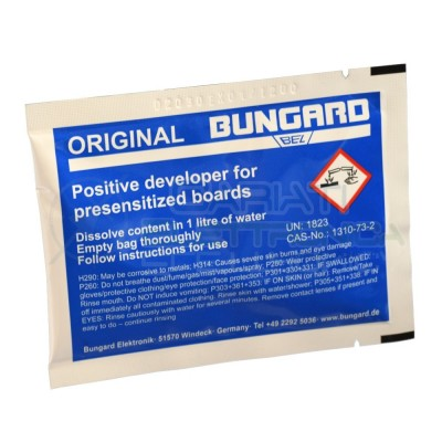 Positive developer for presensitized board brand BungardBungard elektronik