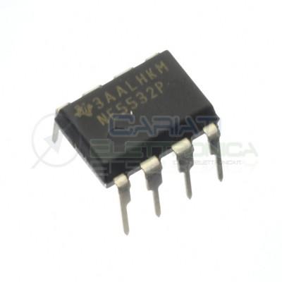 2 PEZZI CIRCUITO INTEGRATO NE5532P NE5532 Amplificatore operazionale