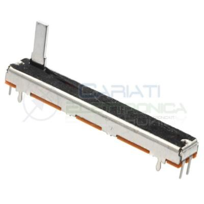 Potenziometro slider mono a slitta lineare 60mm 10kohm 10k B103 B10K Mixer Audio 2,29 €